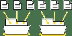 fichier dans dossiers